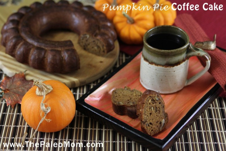 Paleo Pumpkin Pie Coffee Cake