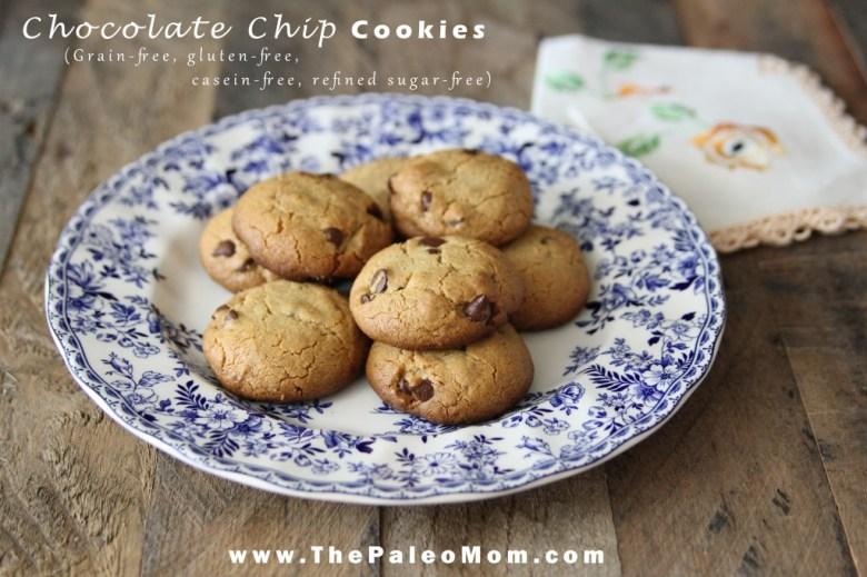 Paleo Mom's Chocolate Chip Cookies