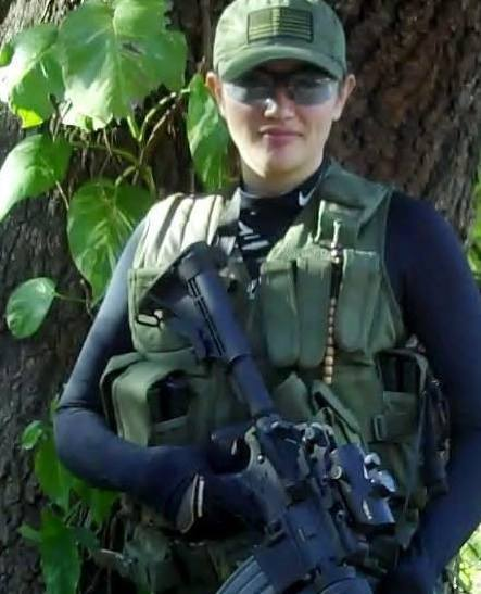 Amelia Foxwell, of Florida's Charter Oaks militia and then paramilitary efforts to patrol the US border against Mexicans, who then came to Bocas del Toro with her partner Darren Wilburn to establish Z7 Tactical, which offered home defense courses, weapons training and advice on how to torture suspected thieves into giving information. Panama's Policia Nacional, who aim to protect the government's monopoly on legal violence and their role as the department that handles that sort of thing, were not amused. At first the sergeant asked Wiburn to come to the station to talk, but he said he's only talk to the local police commander. Then a squad of police officers carrying AK47s came to escort Wilburn and Foxwell to the police station, where they were advised to leave Panama -- which they did.