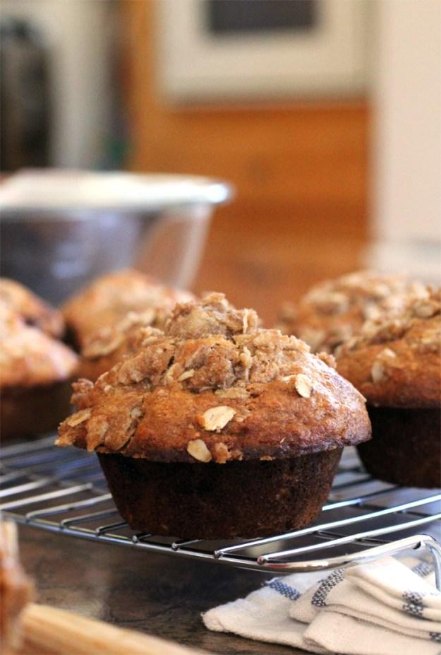 Cashew Honey Blackberry Muffins // The Pancake Princess