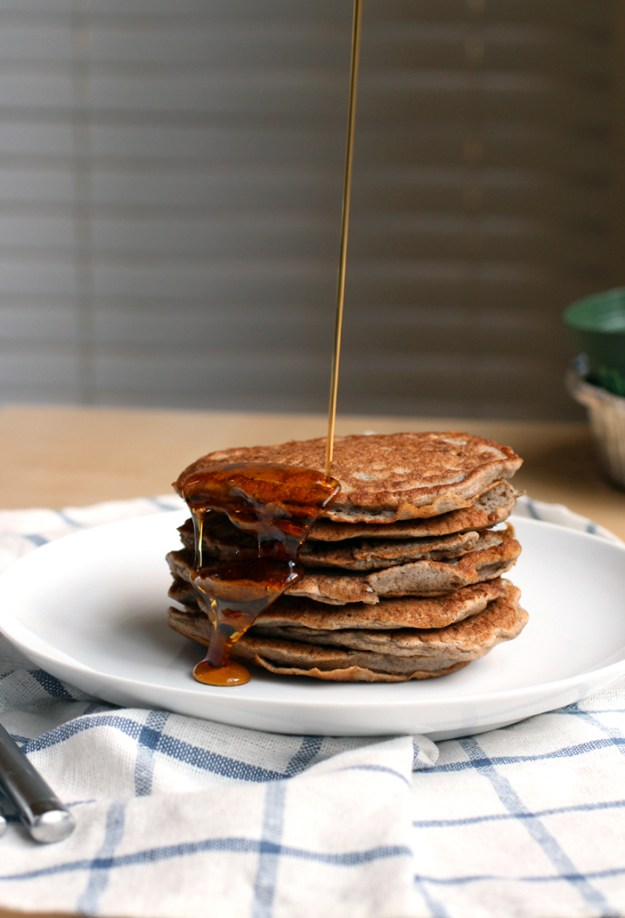 Soaked Buckwheat Pancakes // The Pancake Princess