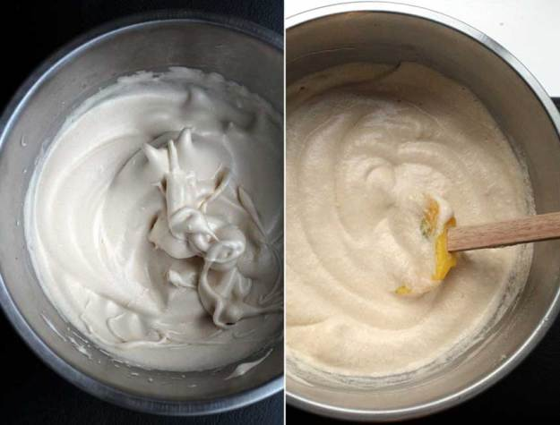 whipped egg white
