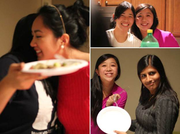 Top right: Krystal has been dubbed our honorary sister since she shares our love of food.
