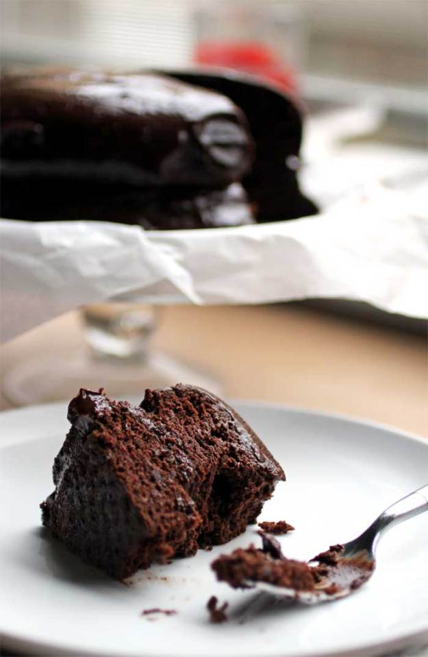 Superfood Chocolate Cake // The Pancake Princess