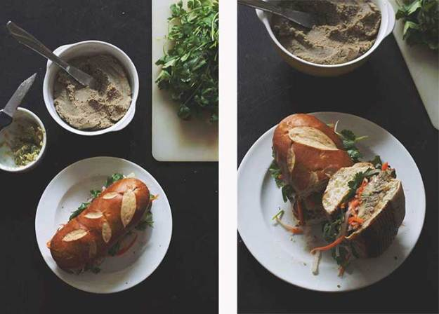 Lentil Pate Banh Mi // The Pancake Princess