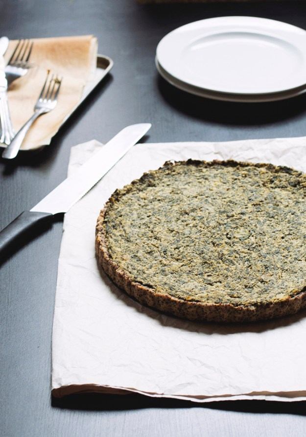 Spanakopita Tart // The Pancake Princess