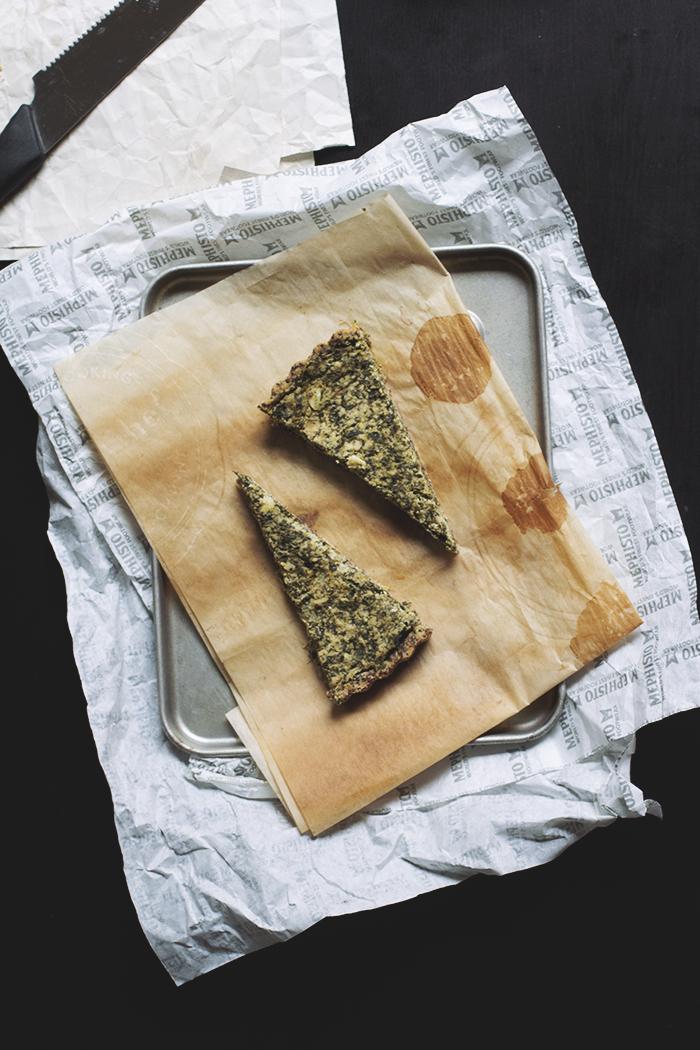 how to make vegan spanokopita