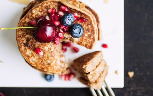 Whole Wheat Aquafaba Pancakes // The Pancake Princess