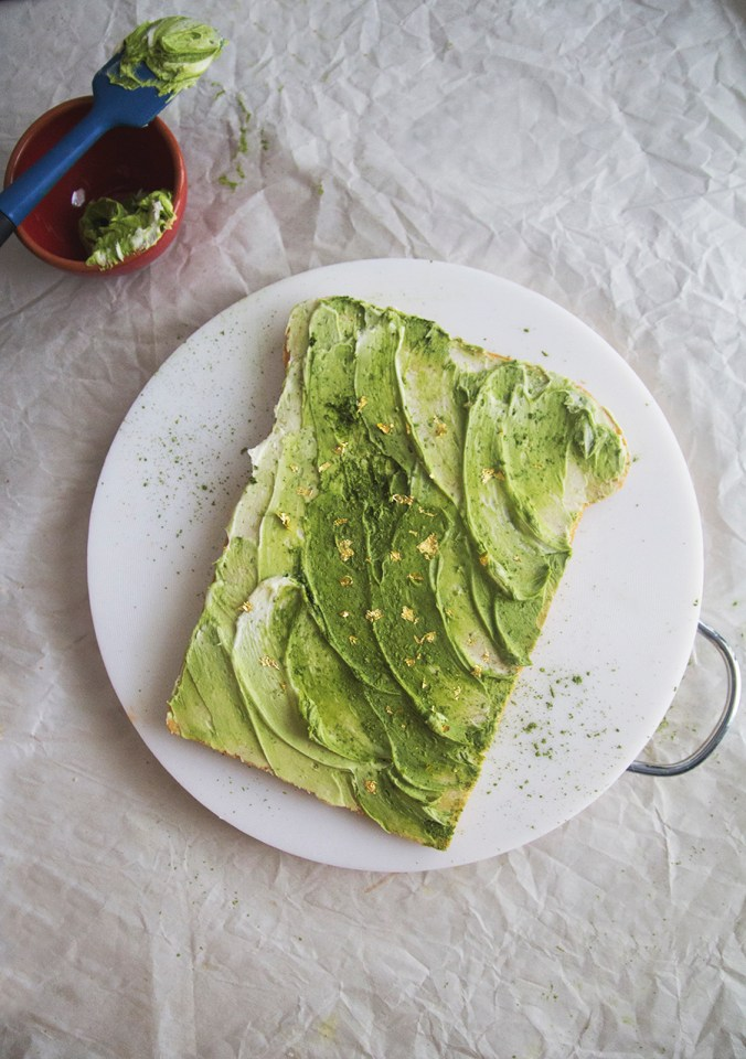 Avocado Toast Cake // The Pancake Princess