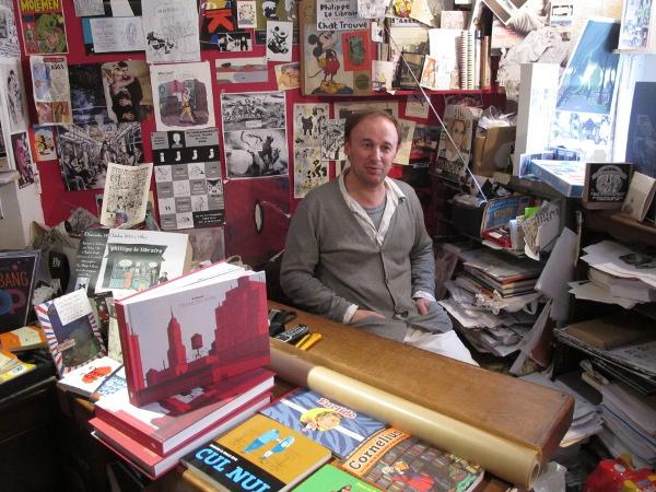 le libraire de la rue des Vinaigriers