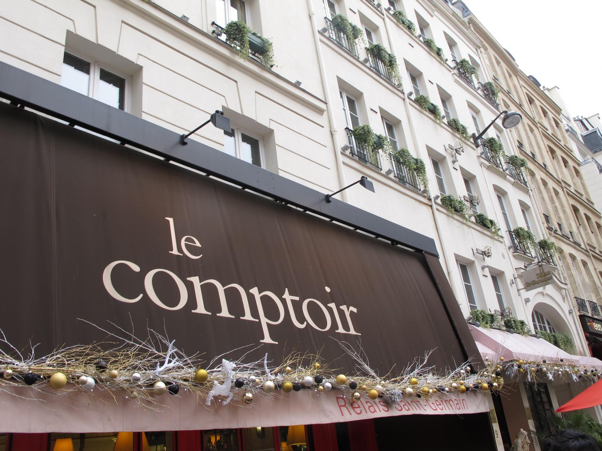 le comptoir du relais yves camdeborde the parisienne. Black Bedroom Furniture Sets. Home Design Ideas