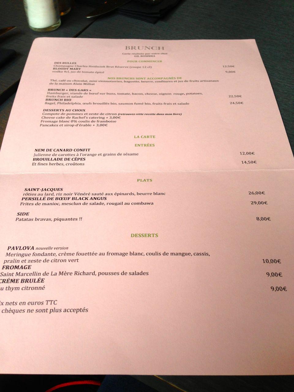 Brunch des gars dans la cuisine the parisienne - Les gars dans la cuisine ...