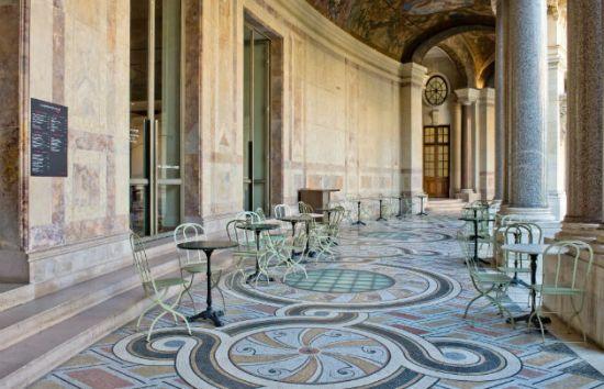 Paris en ao t id e 2 terrasses de mus e the parisienne for Cafe le jardin du petit palais