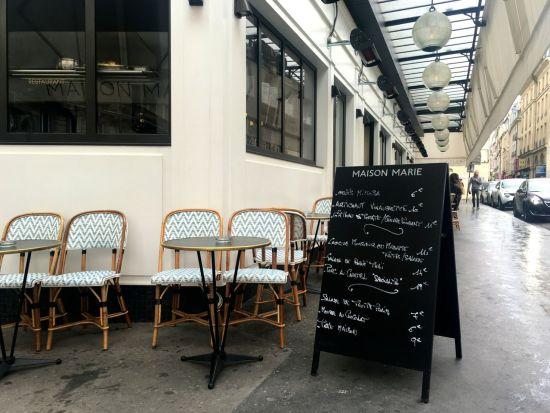 Maison marie paris the parisienne for Maison du luxembourg restaurant