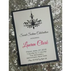 Small Crop Of Sweet 16 Invitations