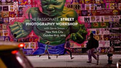 Street Photography Workshop NYC October 8-13, 2015