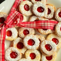 Swedish Thumbprint cookie