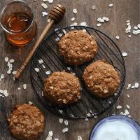 Oatmeal Honey Cookies