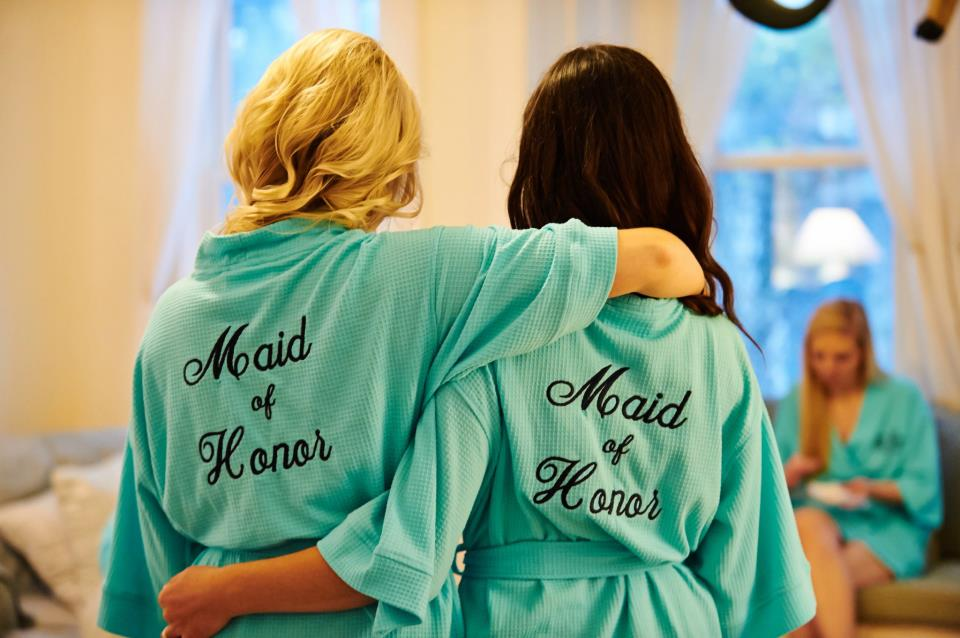 Maid of Honor Blue Robes