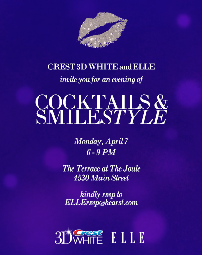 ELLE & Crest Event Invite