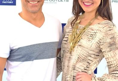 fashion blogger Gap factory stores celebrity interview Dallas tx
