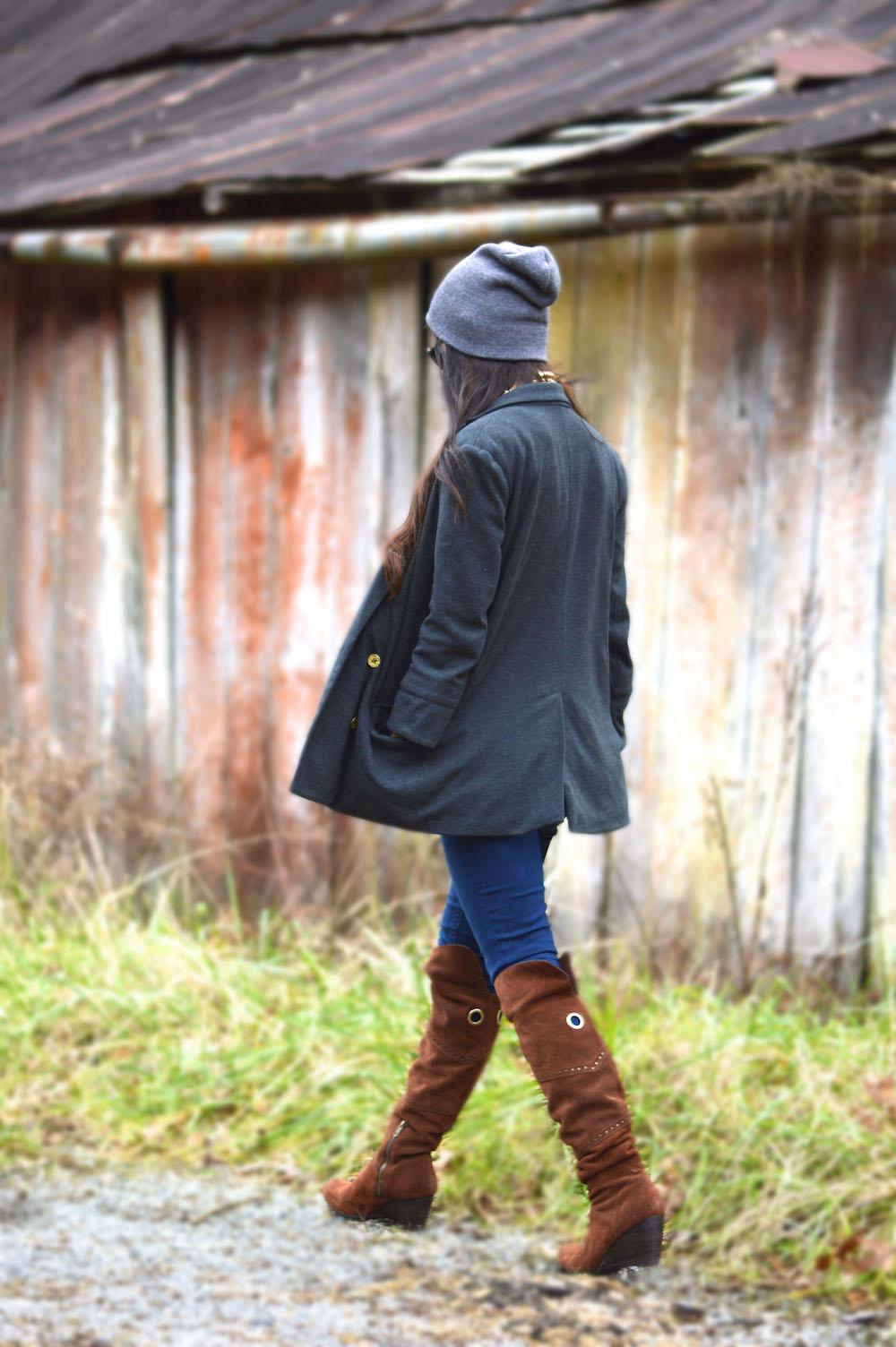 fashion blogger beanie