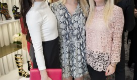 Ellen Flowers, Janie Flowers, Blair Butler, Vogue Giuseppe Event
