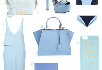 ice blue fashion trend