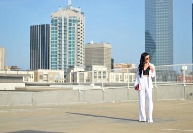 Iris & Ink pant suit