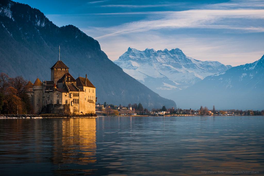 Castle de Chillon Montreux