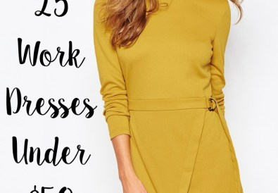 affordable chic work dresses