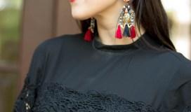 black Express blouse lace-15