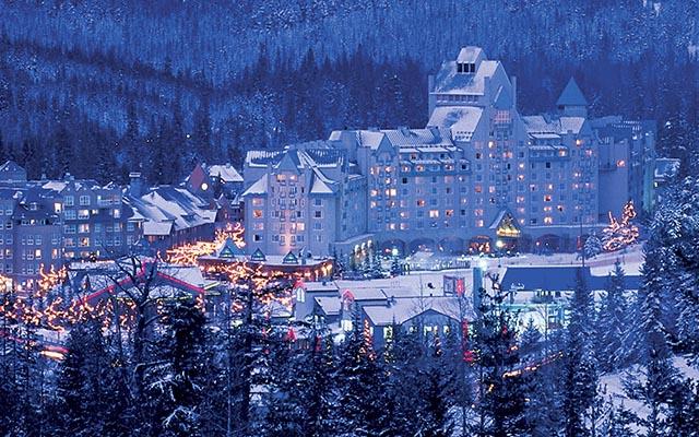 fairmont hotel whistler