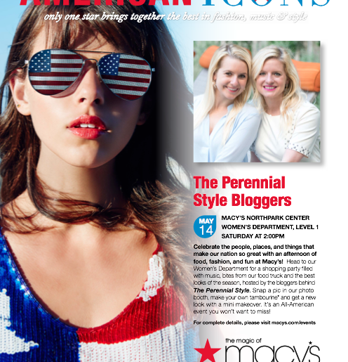 american icons event macys perennial style