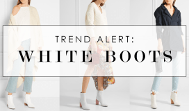 White Boots Trend Alert