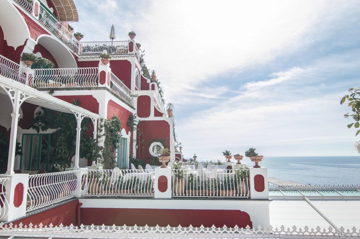 Le Sirenuse Positano Terrace View