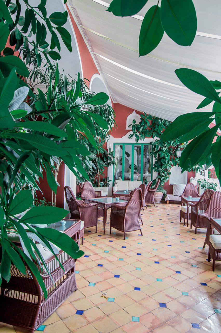 Le Sirenuse Positano Dining Terrace