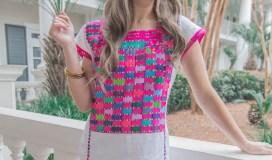 Pink Santa Marguerite Dress (8 of 13)