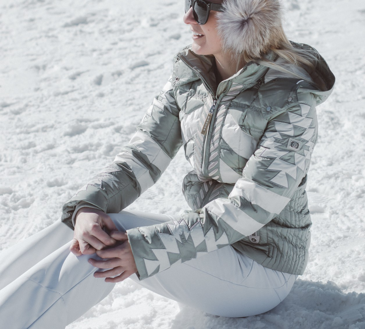 stylish ski clothes