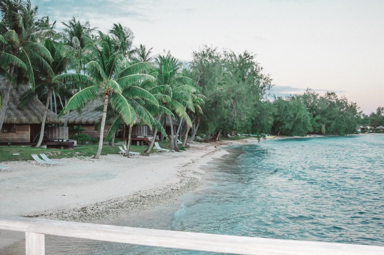 Hotel Kia Ora Rangiroa French Polynesia Beach