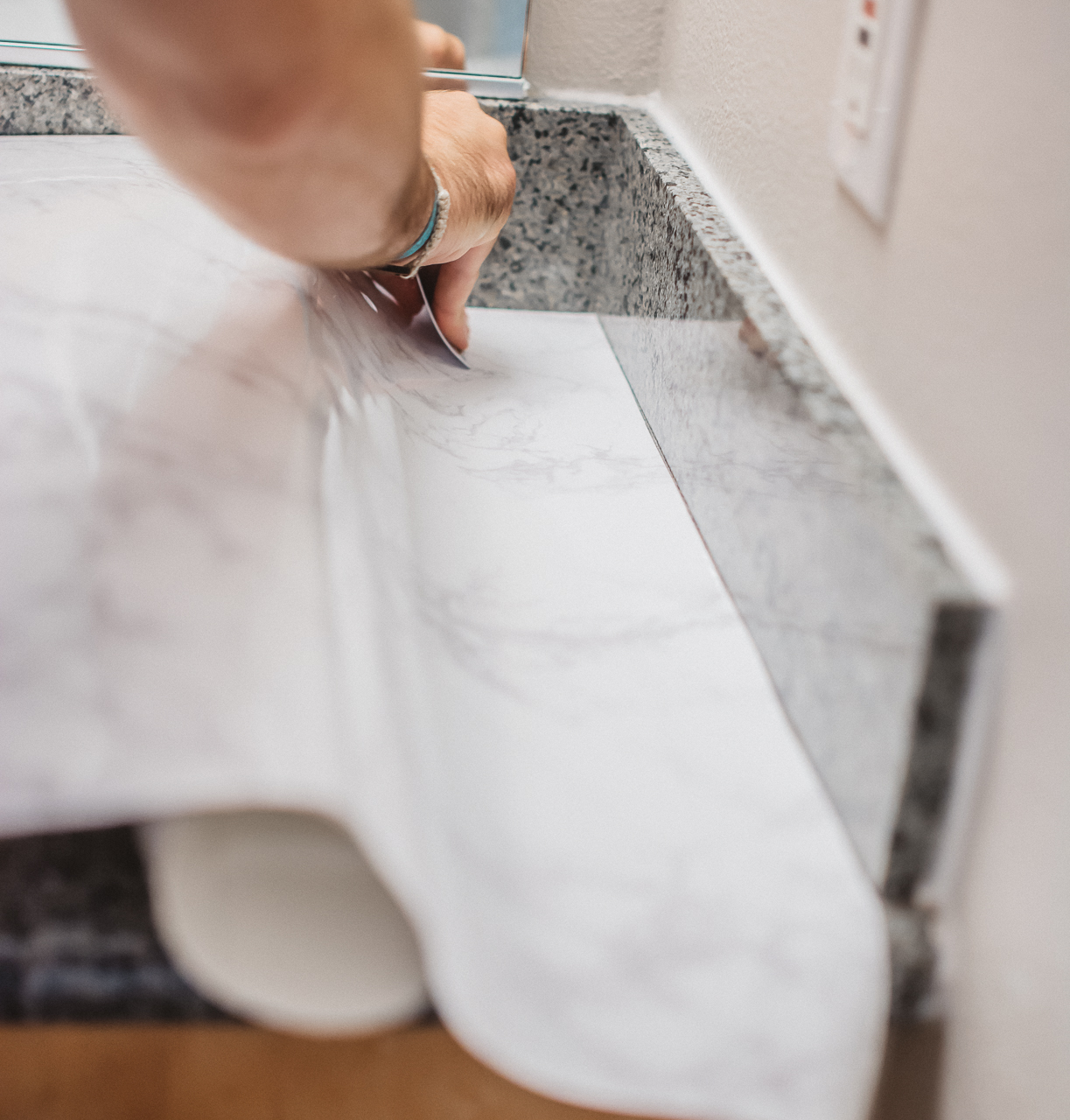 How To Smooth Marble Contact Paper