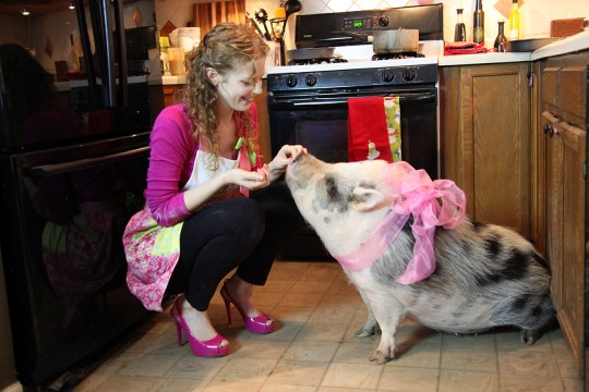 Rachel Woodhouse and Cupcake