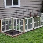 Reclaimed Window Vegetable Garden
