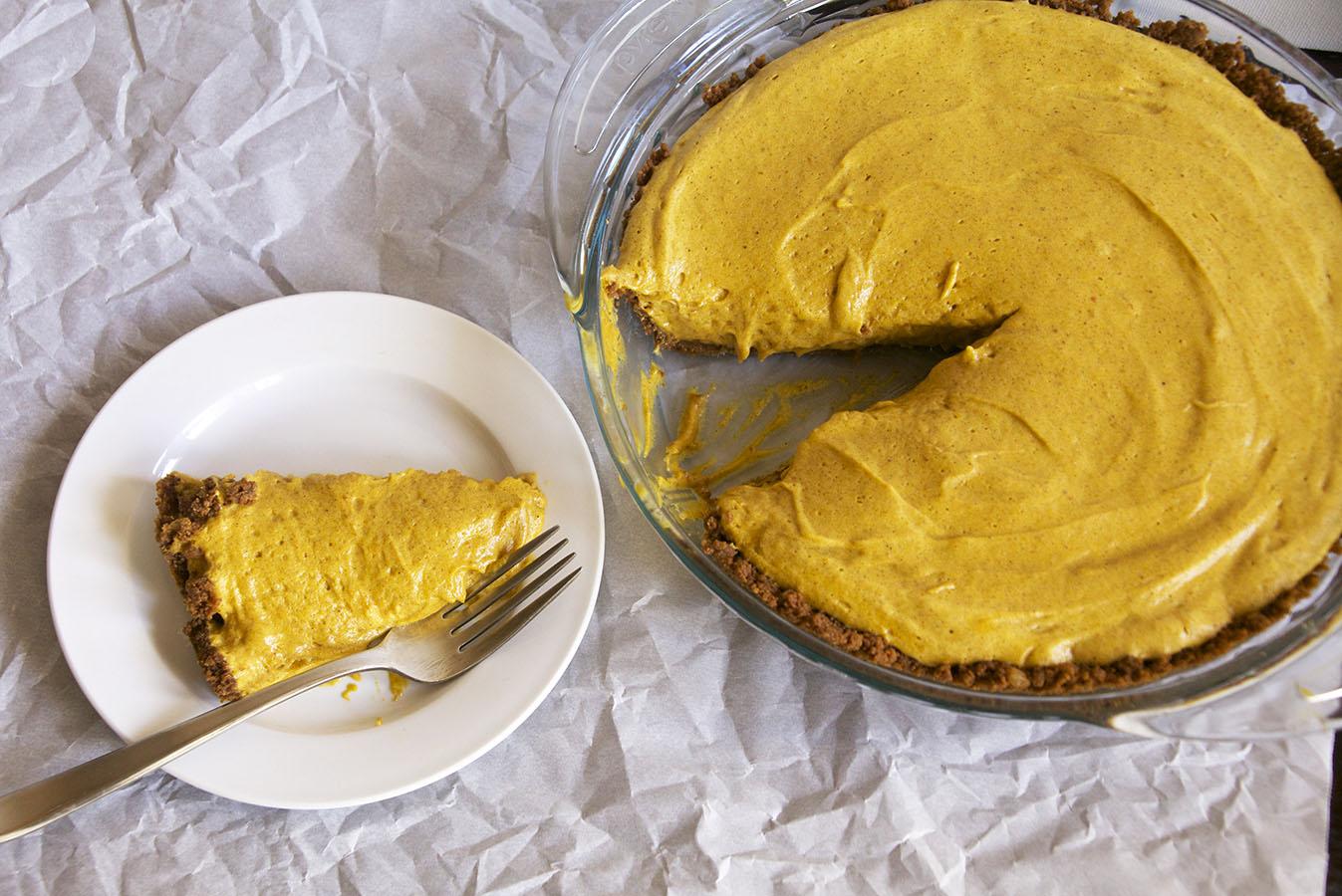... crust pumpkin chiffon mousse with gingersnap crust gingersnap pumpkin