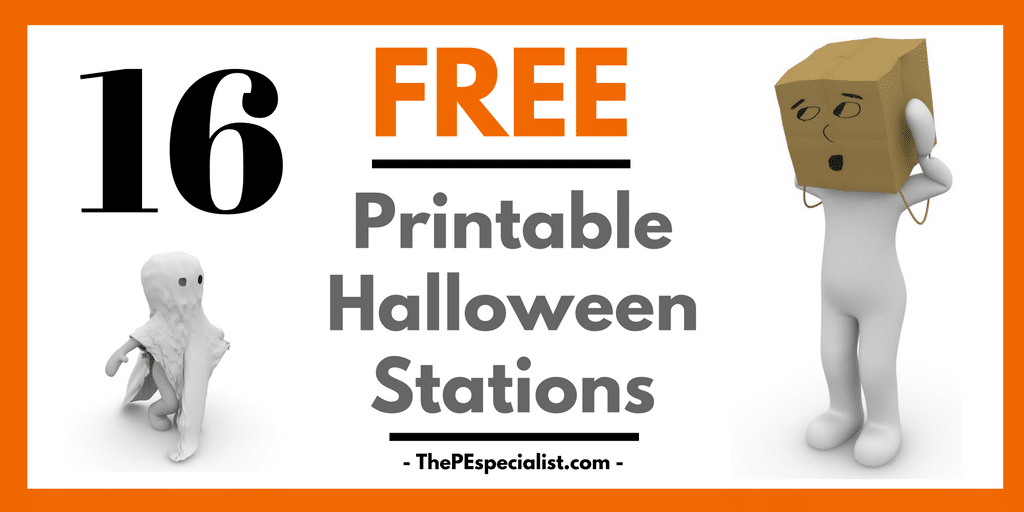 Halloween Stations for PE