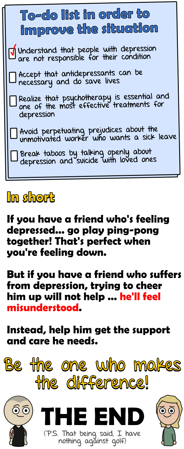 Getting help for depression