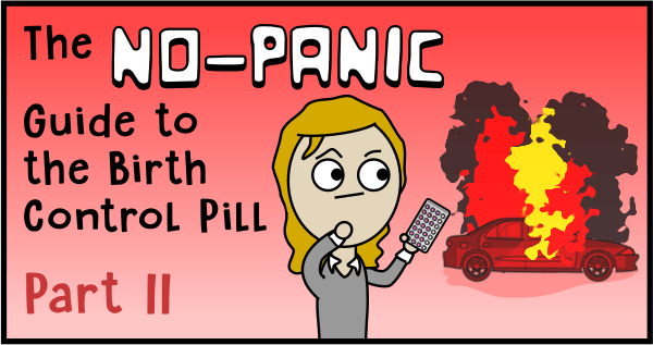 The no-panic guide to the birth control pill part II (header)