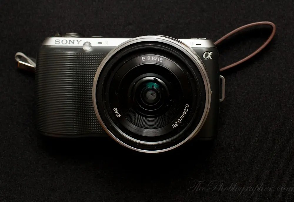 Chris Gampat The Phoblographer Sony NEX C3 review product photos (1 of 7)
