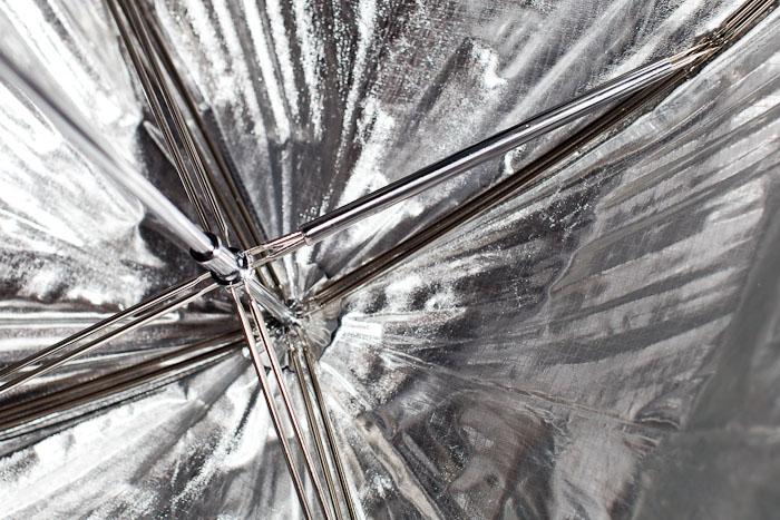 Silver Bounce Umbrella