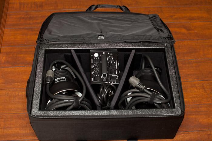Inside Custom Tenba Case